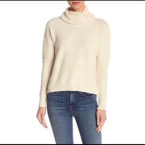 Madewell Texture Turtleneck in Bright Ivory